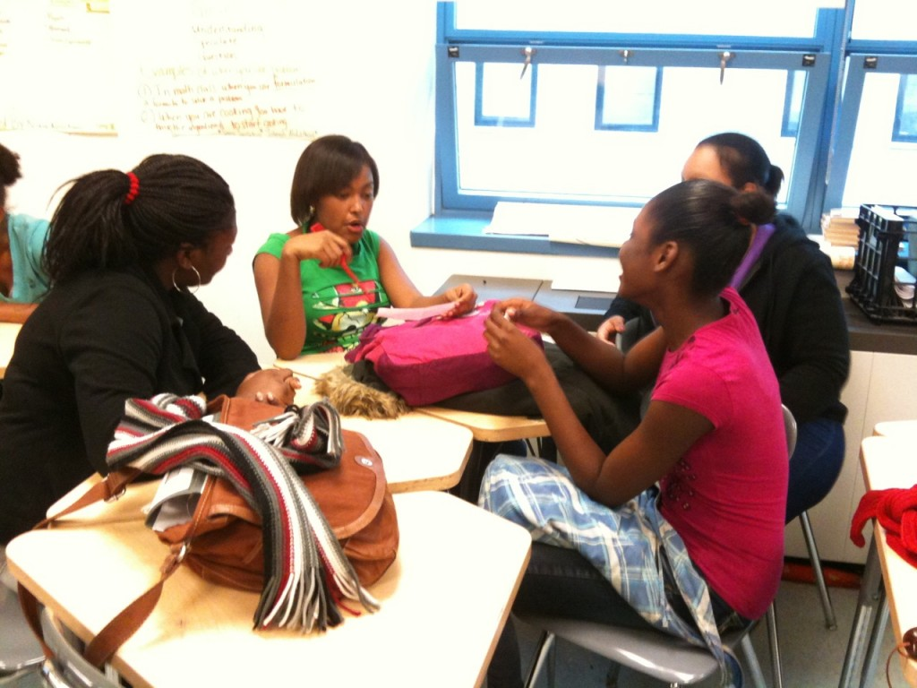 Girls planning