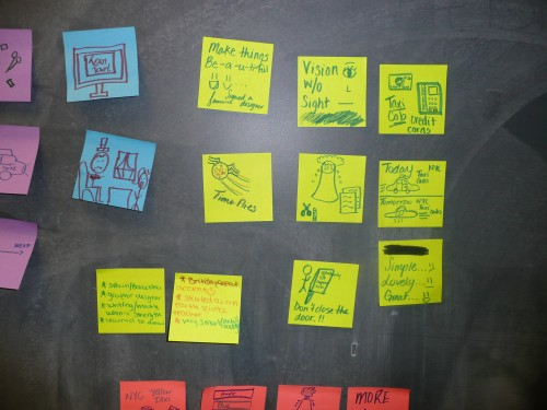 Notes on Post-Its